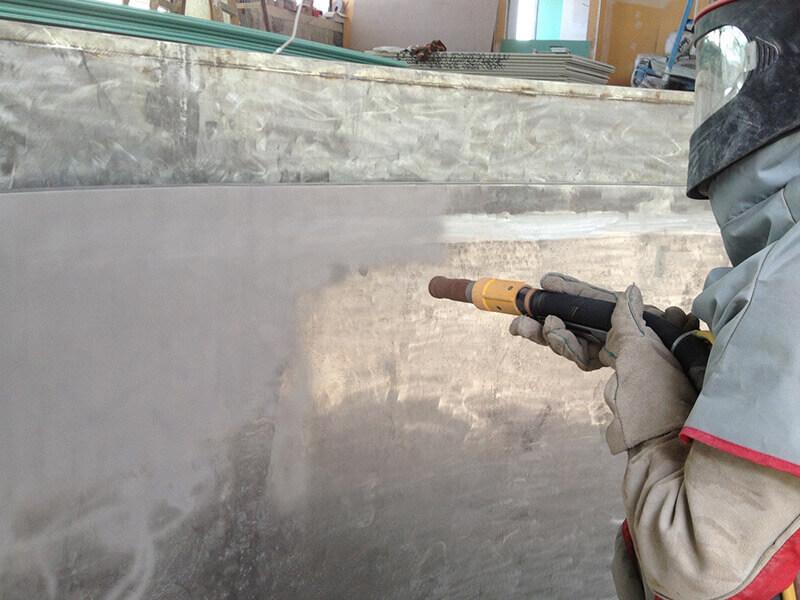 Oberflächentechnik Sandstrahlen